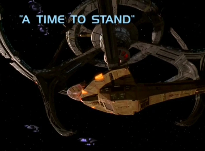 "Star Trek: Deep Space Nine – Season 6: ""A Time to Stand"" (Season Opener)"