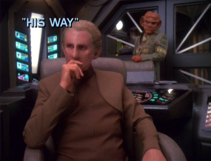 "Star Trek: Deep Space Nine – Season 6: ""His Way"""