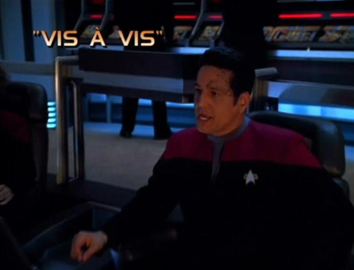 """Star Trek: Voyager – Season 4: """"Vis a Vis"""""""