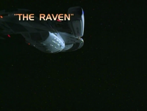 The Raven Title Card