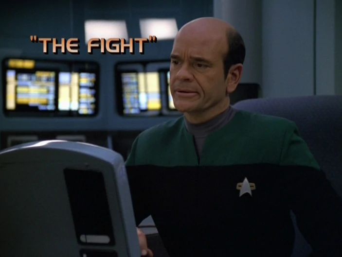 "Star Trek: Voyager – Season 5: ""The Fight"""
