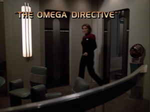 The Omega Directivw Title Card