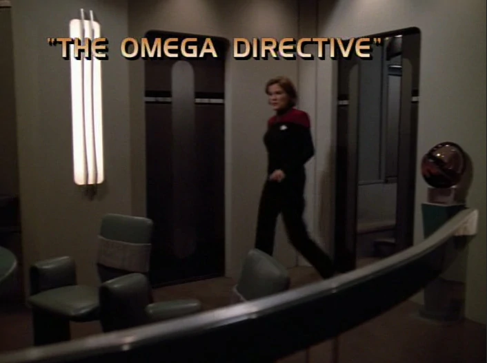 "Star Trek: Voyager – Season 4: ""The Omega Directive"""