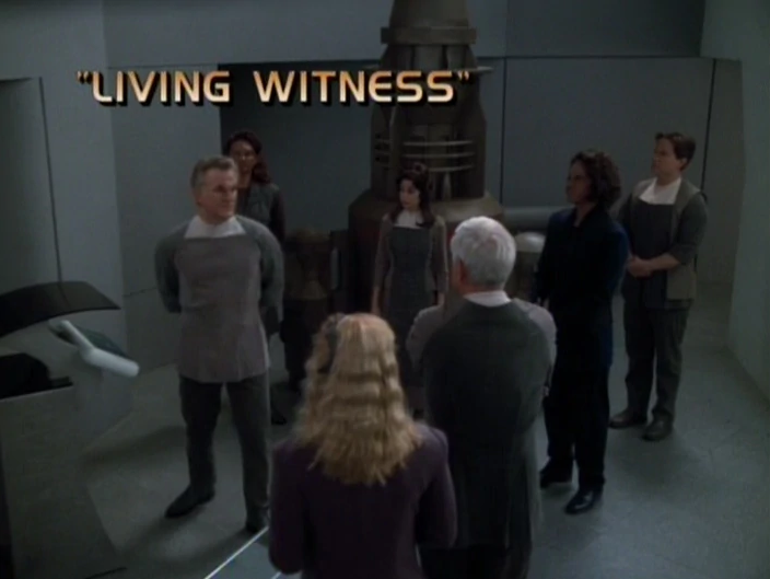 "Star Trek: Voyager – Season 4: ""Living Witness"""