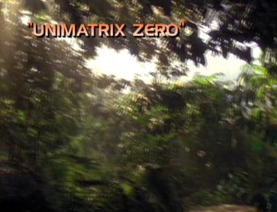 Unimatrix Zero Pt. 1 Title Card