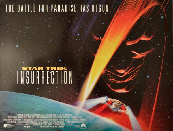 Star Trek Insurrection Poster Horizontal