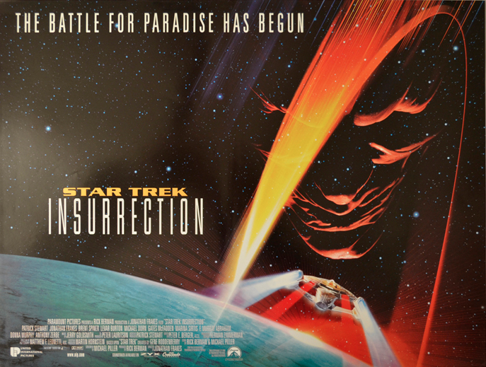 Star Trek Insurrection Poster Horizontal