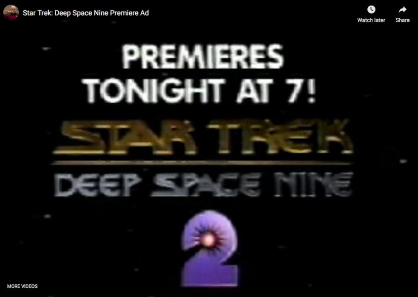 Star Trek: Deep Space Nine Premiere Ad