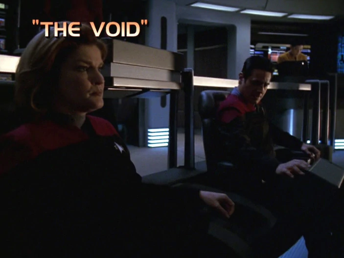 "Star Trek: Voyager – Season 7: ""The Void"" – O. Deus and the Devil's Advocate"