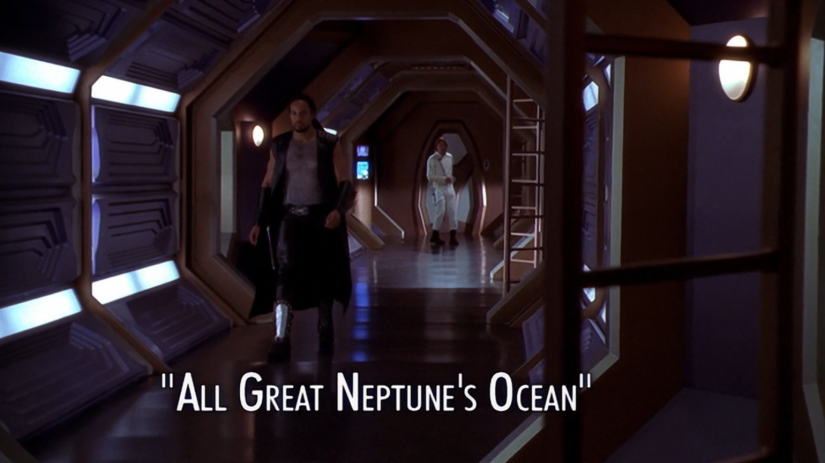 "Andromeda – Season 1: ""All Great Neptune's Oceans"" – O. Deus and the Devil's Advocate"