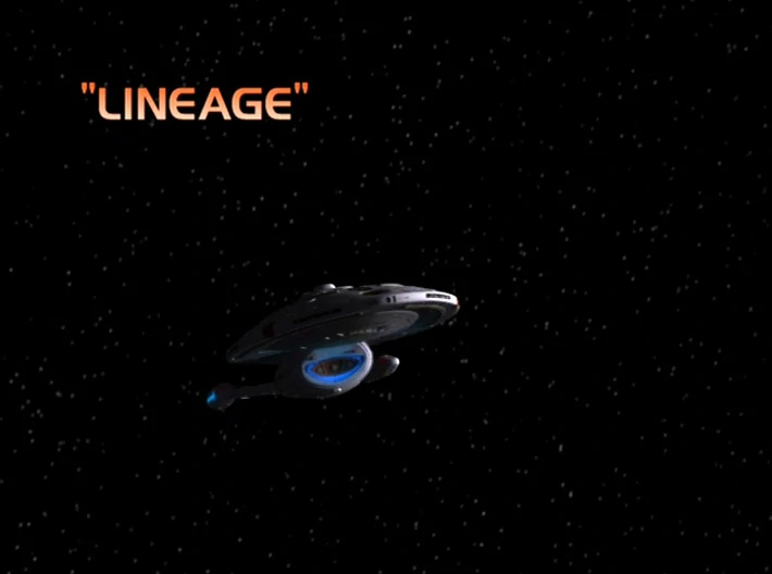 "Star Trek: Voyager – Season 7: ""Lineage"" – O. Deus and the Devil's Advocate"