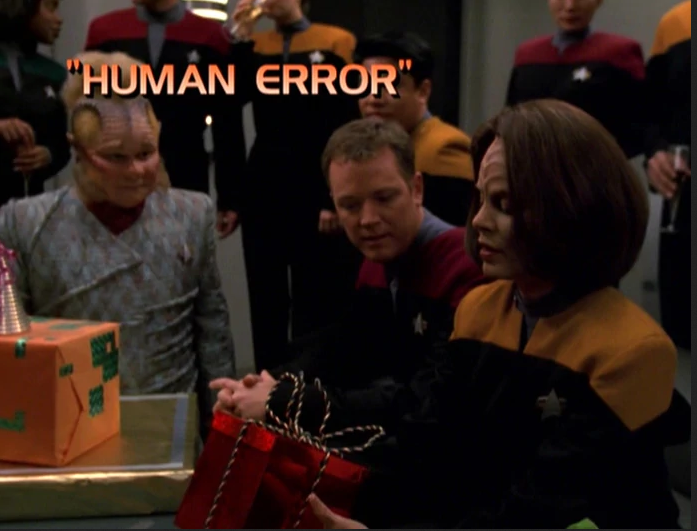 "Star Trek: Voyager – Season 7: ""Human Error"" – O. Deus and the Devil's Advocate"
