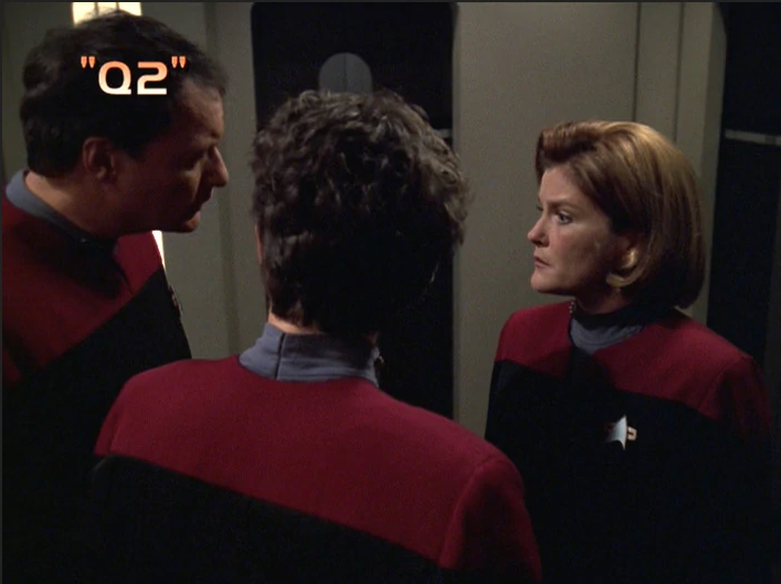 "Star Trek: Voyager – Season 7: ""Q2"" – O. Deus and the Devil's Advocate"