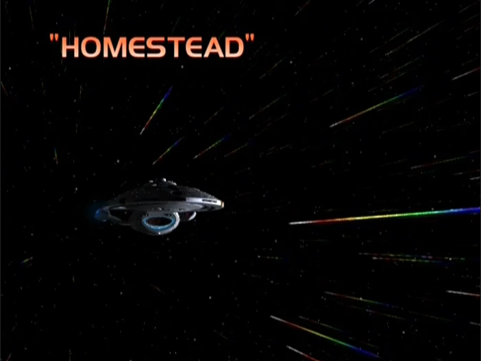 "Star Trek: Voyager – Season 7: ""Homestead"" – O. Deus and the Devil's Advocate"