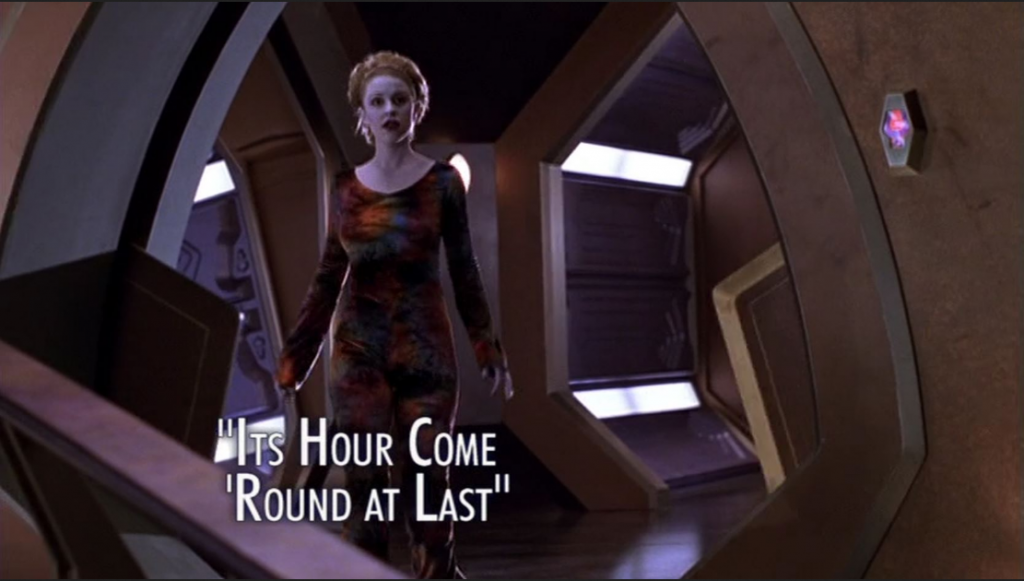 Andromeda It's Hour Come Round at Last Title Card